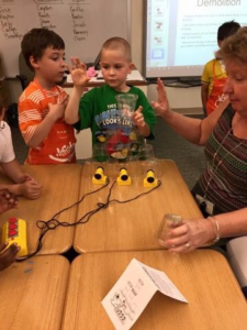 STEAM at summer camp at Yorkshire Elementary